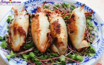 Nấu ăn món ngon mỗi ngày với Thịt băm, cách làm mực nhồi thịt chiên giòn
