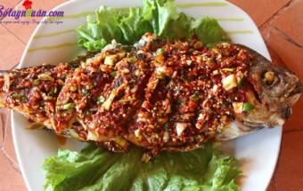 Nấu ăn món ngon mỗi ngày với Dầu mè, cá chiên giòn 3