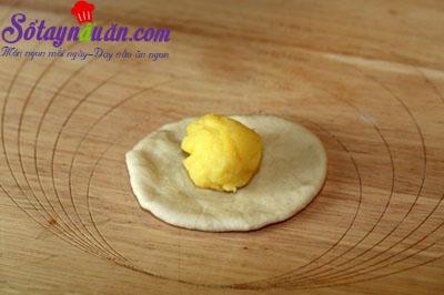 Cách làm bánh bao kim sa lạ miệng ngon tuyệt 4