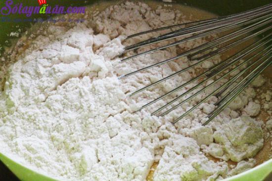 cách làm bánh chuối nướng 2