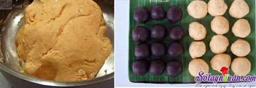 Cách làm bánh khoai lang nhân đậu đỏ siêu ngon,dễ làm 3