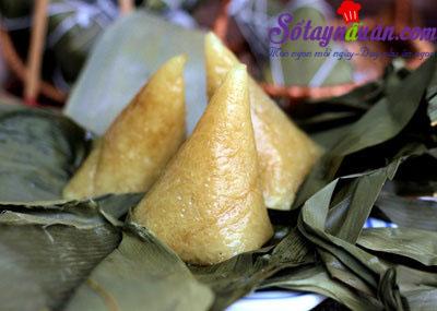 Cách làm bánh ú tro đậm đà quê hương cho tết Đoan Ngọ kết quả