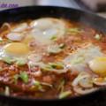 món nấu, Cách làm đậu phụ rán trứng kiểu Hàn chua cay tuyệt ngon 10