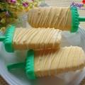 Ngọt mát với sinh tố sữa chua xoài dứa, cách làm kem xoài 3