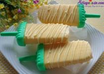 Cách làm kem xoài sữa chua mát lạnh