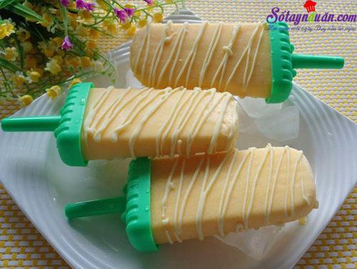 cách làm kem xoài 3