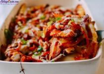 Cách làm kim chi nướng pho mát,khoai tây lạ mà ngon