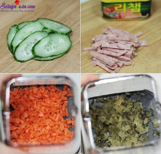 cách làm sandwich đơn giản  1