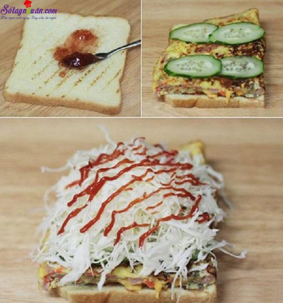 cách làm sandwich đơn giản  4
