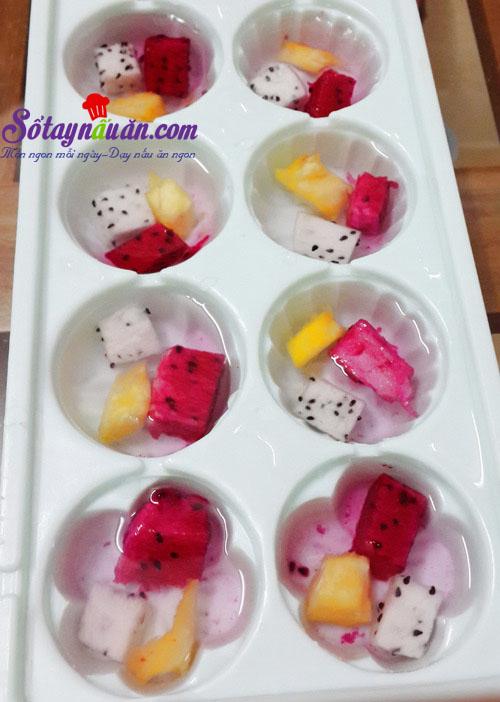 Cách làm thạch hoa quả ngọt mát cho ngày hè nắng nóng 2