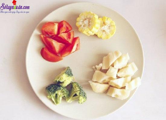cách làm thịt bò hầm rau củ 1