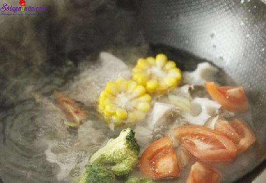 cách làm thịt bò hầm rau củ 5