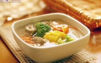 Cách nấu canh, cách làm thịt bò hầm rau củ 7