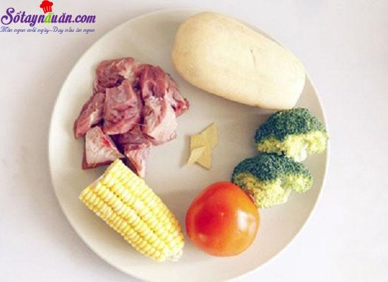 cách làm thịt bò hầm rau củ