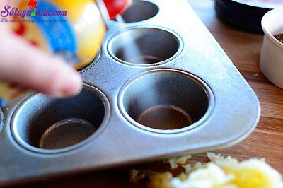 cách làm trứng nướng khoai tây 2