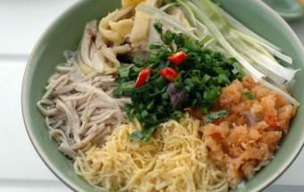 Nấu ăn món ngon mỗi ngày với Giấm, cách nấu bún thang 7