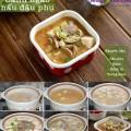 canh cá nấu chua, cách nấu canh ngao đậu phụ