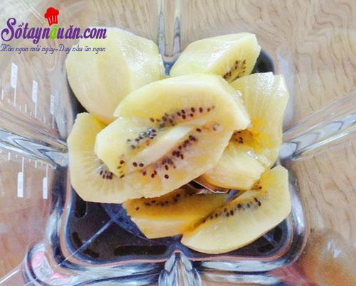 Công thức làm sinh tố kiwi đẹp da, ngon bổ dưỡng chào hè 1