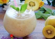 Công thức làm sinh tố kiwi đẹp da, ngon bổ dưỡng chào hè