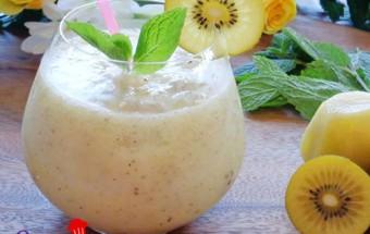 làm sinh tố, Công thức làm sinh tố kiwi đẹp da, ngon bổ dưỡng chào hè 3