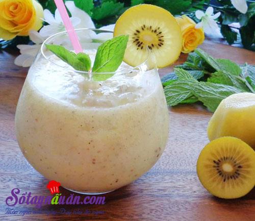 Công thức làm sinh tố kiwi đẹp da, ngon bổ dưỡng chào hè 3
