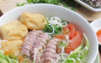 Nấu ăn món ngon mỗi ngày với Đậu phụ, công thức nấu bún bề bề 1