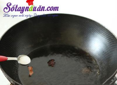 Công thức thịt viên trứng cút sốt lạ miệng 6