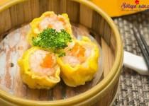 Cách làm dim sum nhân tôm thịt chuẩn vị Trung Hoa