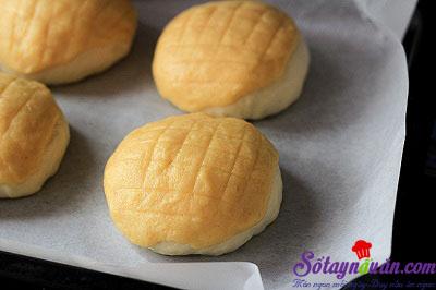 Hướng dẫn làm bánh dứa Hong Kong thơm ngon khó cưỡng 5