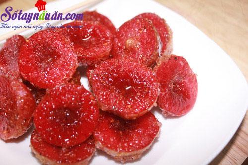 Hướng dẫn làm mận dầm chua ngọt ngon mê mẩn