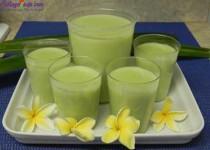 Cách làm sữa đậu xanh nước dừa thơm ngon hấp dẫn