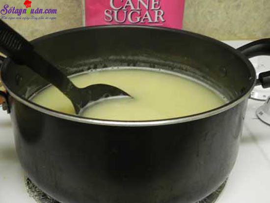 làm sữa đậu xanh cốt dừa 4