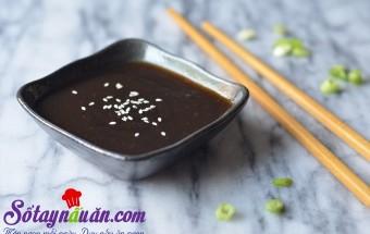 Nấu ăn món ngon mỗi ngày với Mật ong, Cách làm xốt teriyaki đơn giản tại nhà