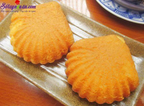 Bí quyết làm bánh hình sò Madelein thơm ngon từng miếng kết quả