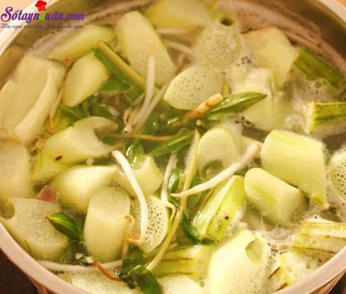 Bí quyết nấu canh chua cá lóc thơm ngon tròn vị 4