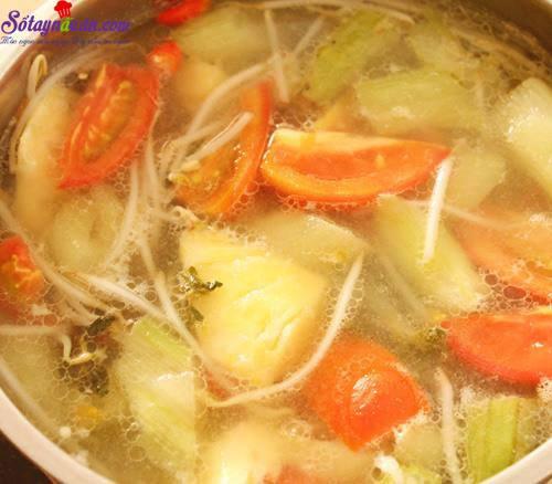 Bí quyết nấu canh chua cá lóc thơm ngon tròn vị 5