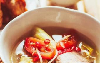 Nấu ăn món ngon mỗi ngày với Dứa, Bí quyết nấu canh chua cá lóc thơm ngon tròn vị 6