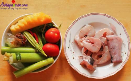 Bí quyết nấu canh chua cá lóc thơm ngon tròn vị 1
