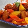 mực xốt chua cay, cách nấu sườn chua ngọt 6