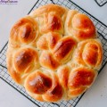 làm bánh mì, cách làm bánh bơ sữa 8