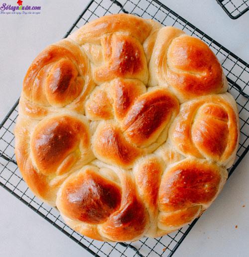 cách làm bánh bơ sữa  8
