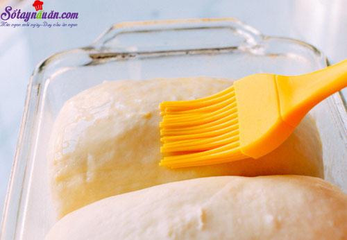 cách làm bánh bơ sữa  6