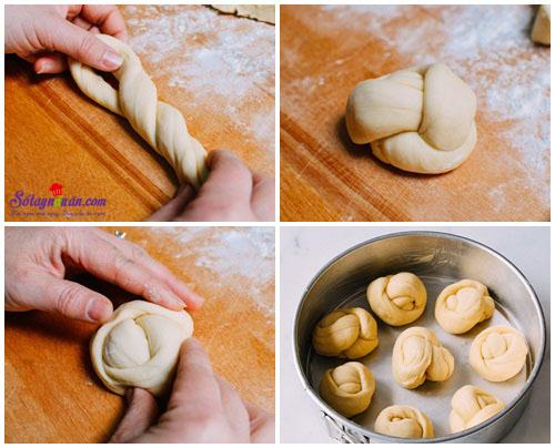 cách làm bánh bơ sữa  4