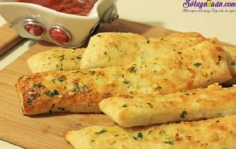 Nấu ăn món ngon mỗi ngày với Bột canh, Cách làm bánh mì nướng bơ tỏi 3