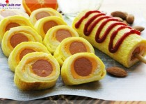 Cách làm bánh mì cuộn trứng phô mai thơm ngon hấp dẫn