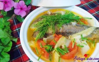Cách nấu canh, Cách làm canh cá nấu măng thơm ngon đúng điệu kết quả
