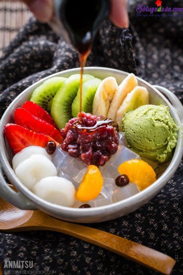 Cách làm đá bào Patbingsu của Hàn siêu ngon và hấp dẫn thành phẩm