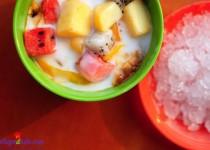 Cách làm hoa quả dầm  thơm ngon mát rượi