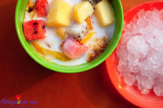 cách làm hoa quả dầm 2