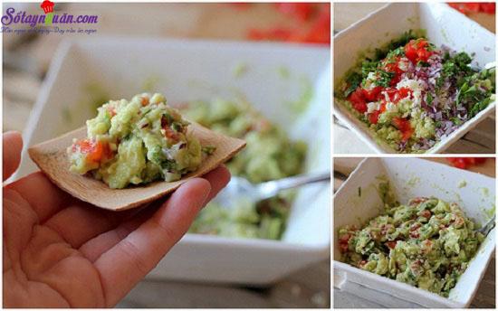 cách làm salad bơ từ Mexico  5